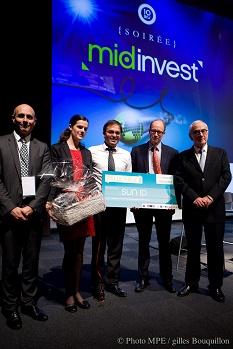 Lauréat Concours Innovation Midi-Pyrénées Midinvest