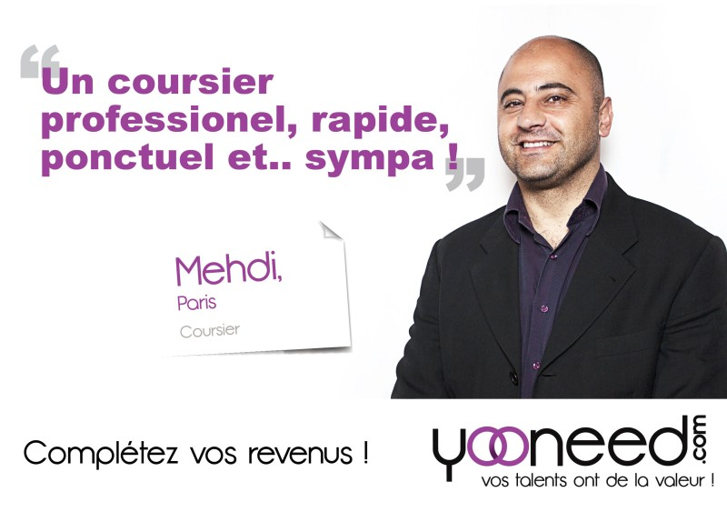 coursier-Paris-Mehdi-Yooneed