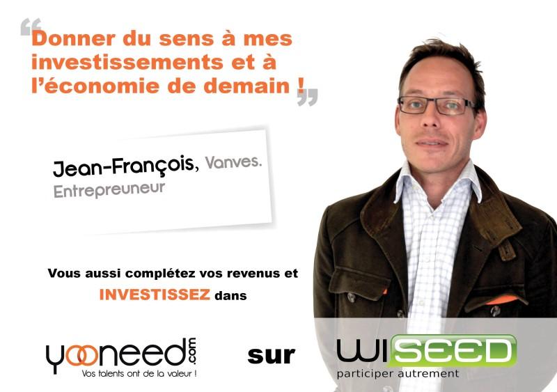Wiseed-Jean-François-entrepreneur-Yooneed