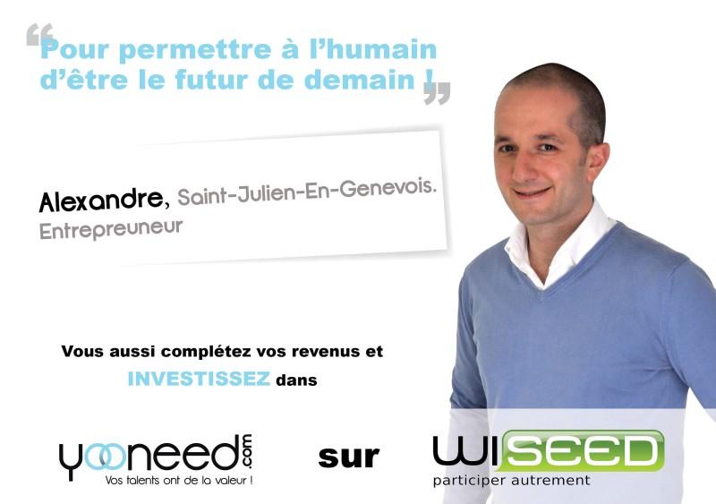 Wiseed-Alexandre-entrepreneur-Yooneed