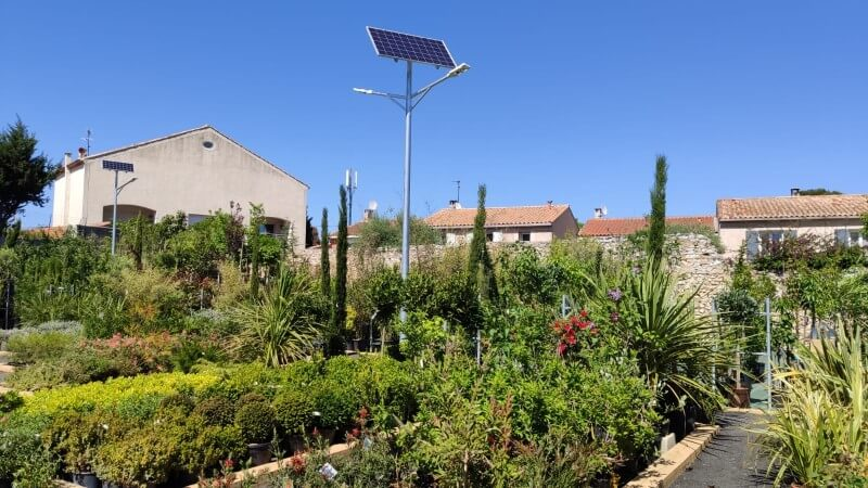 Lampadaires solaires LUMI'IN