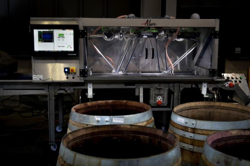 ALIEN - Système robotisé du tri des déchets de la vendanges