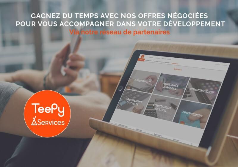 La plateforme de services, TeePy Services