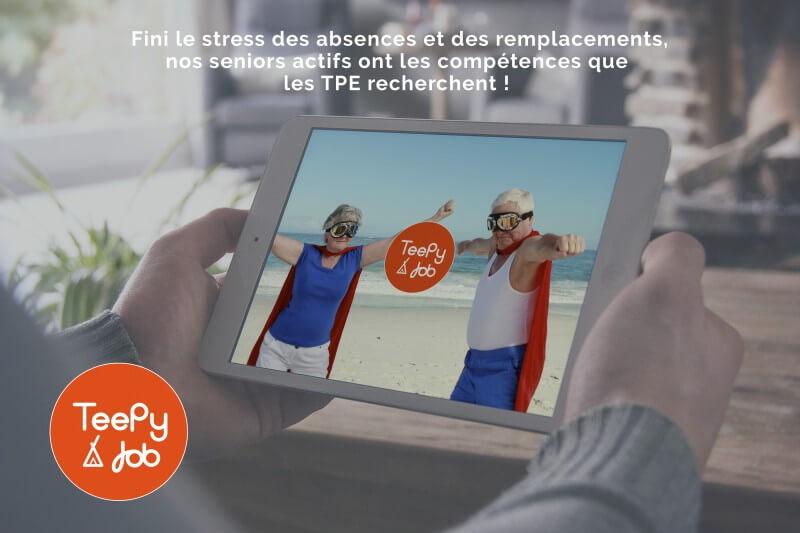 La plateforme de recrutement TeePy Job