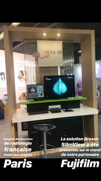 Stand Hera-MI sur le stand de notre partenaire Fujiflm au JFR 18