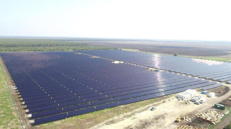 Parc solaire de Lugos