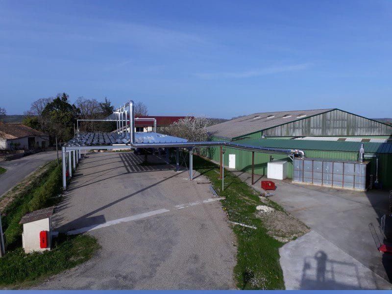 La centrale solaire HELIO SMART