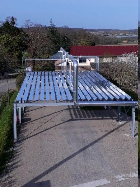 Le concentrateur solaire