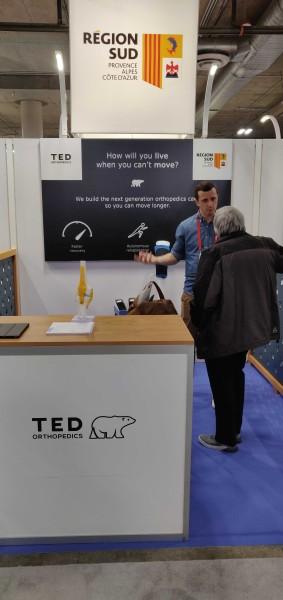Ted Orthopedics au CES de Las Vegas 2019