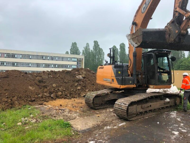 Photo chantier Connexion 117