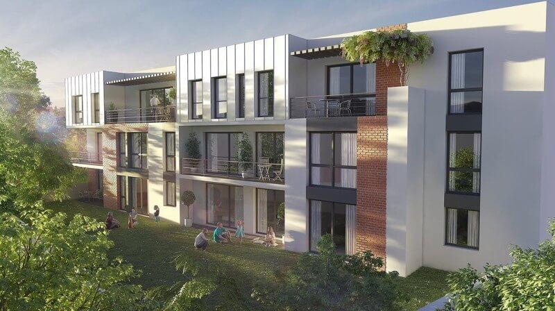 Chartres vue appartements