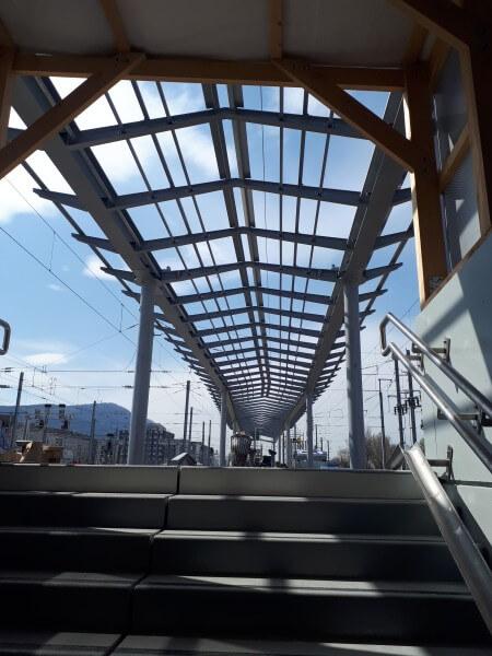 Quai gare SNCF d'Annemasse