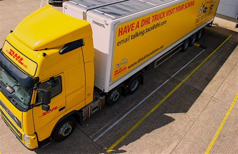 DHL PV Camion