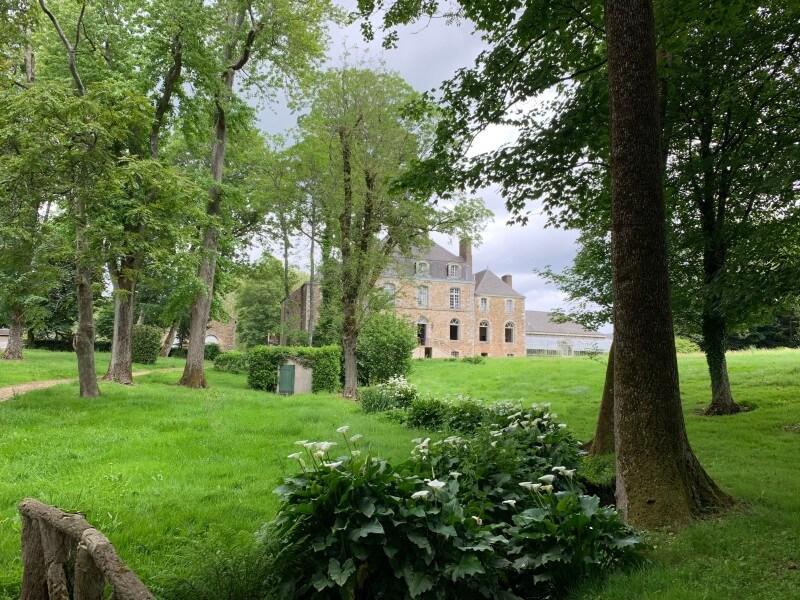La château et son parc