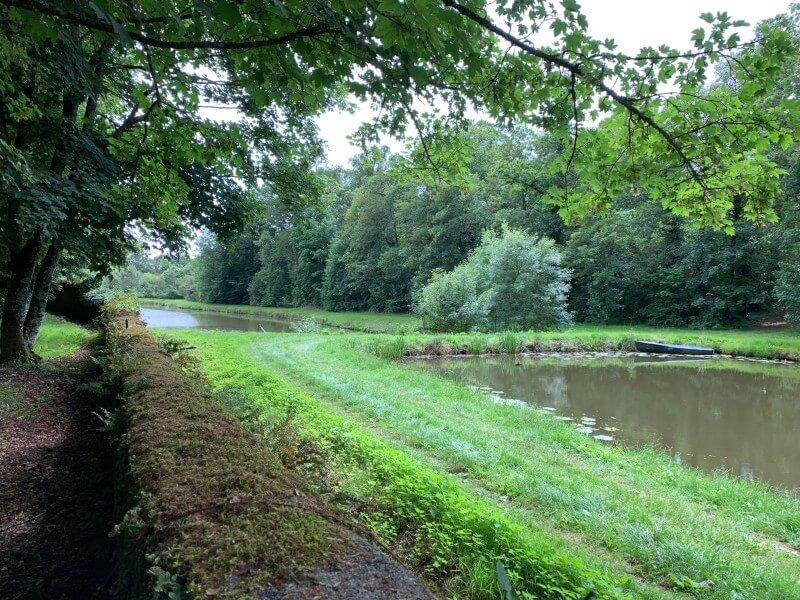 Les deux étangs boisés