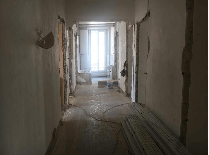 Vue intérieure - avant rénovation