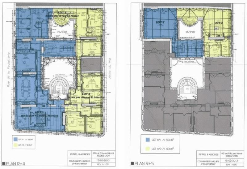 Plans R+4 et R+5