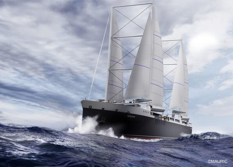 Le Neoliner, un cargo à voiles pour un transport maritime responsable