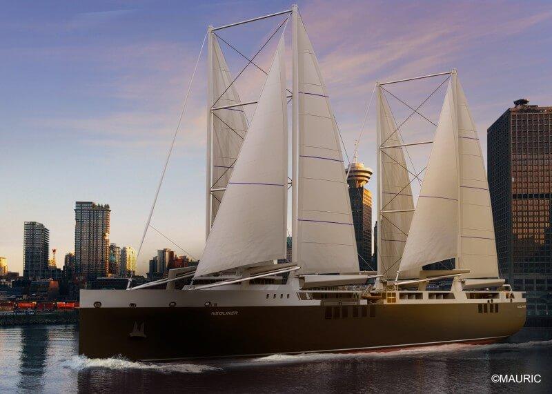 12 passagers pourront embarquer à bord et faire la traversée de l'Atlantique poussés par le vent
