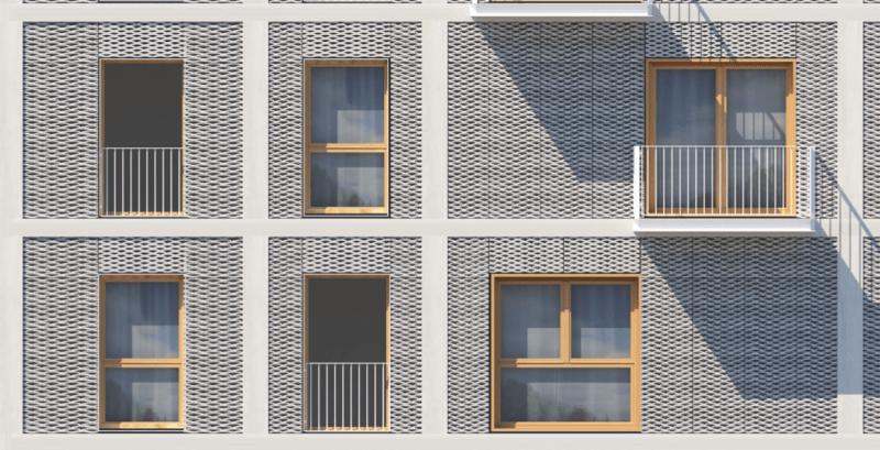 Visuel détail façade
