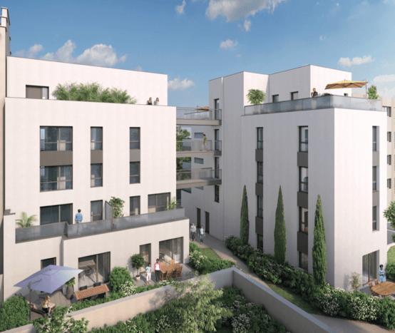Villa Urbana - Perspective Cour