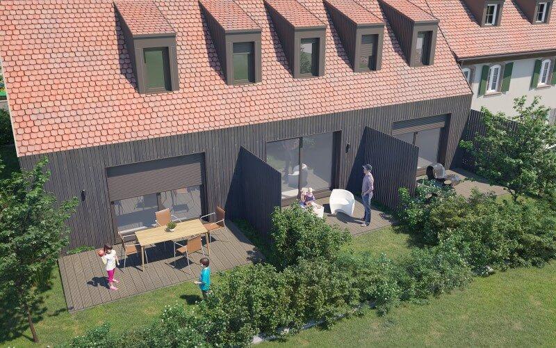 Extérieur Duplex (bâtiment B)