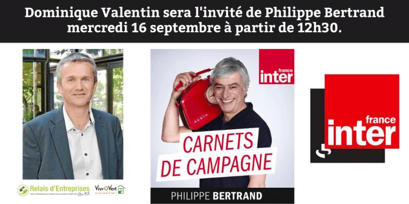 Dominique sur le plateau de Carnets de Campagne