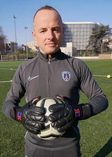 Nathanael Gavant ( Coach Paris FC, Ligue2)