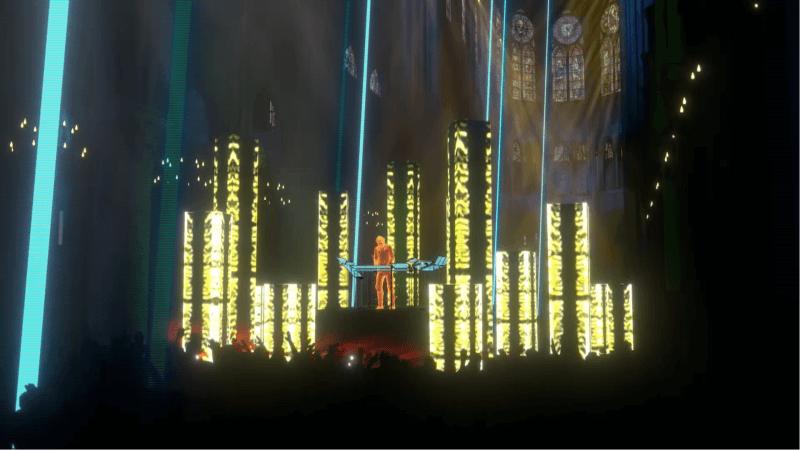 Jean-Michel Jarre Notre-Dame concert 4