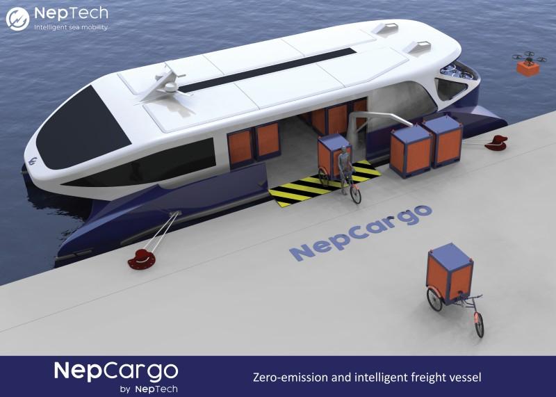 NepCargo - Navette de transport de marchandises