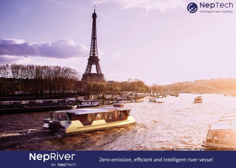 NepRiver - Navette fluvialee de transport de passagers
