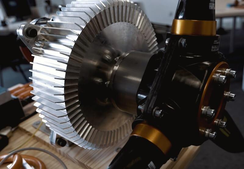 Premier prototype moteur d'une puissance de 60 kW