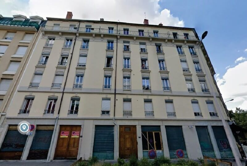 Immeuble rue Camille Roy