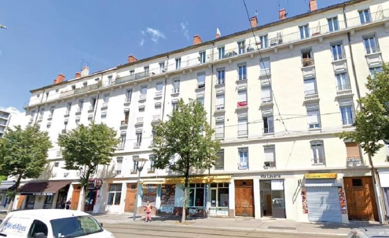 Immeuble avenue Berthelot