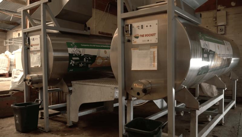 Les composteurs électromécaniques pasteurisent les biodéchets à 65°C pendant 15 jours : cela crée un compost stable et normé NFU 44051