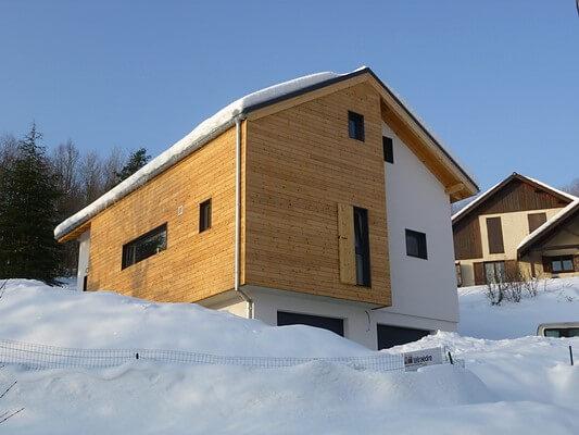 Exemple d'architecture et de façade