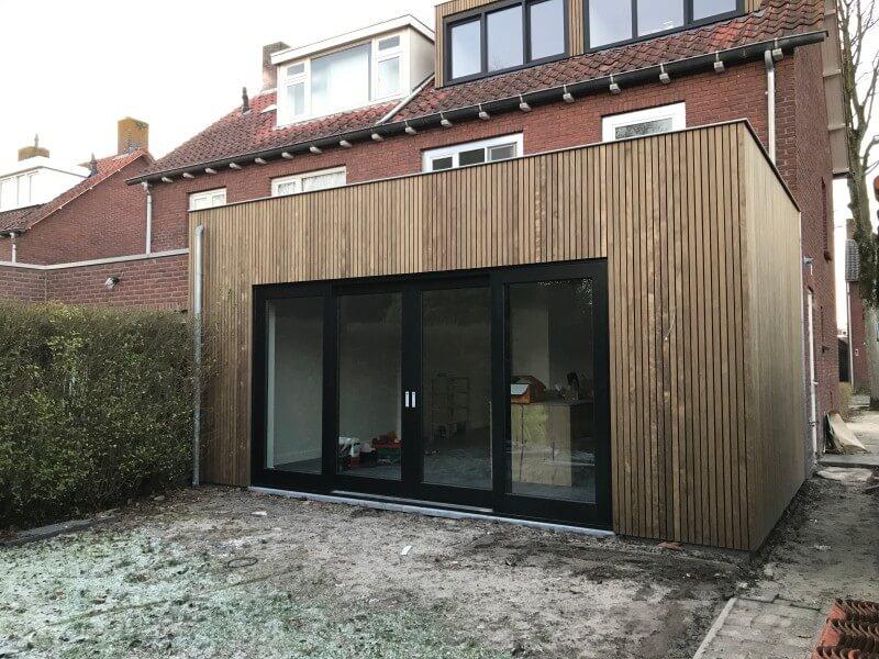 Extension d'habitation : BLOKIWOOD idéal pour les accès difficiles