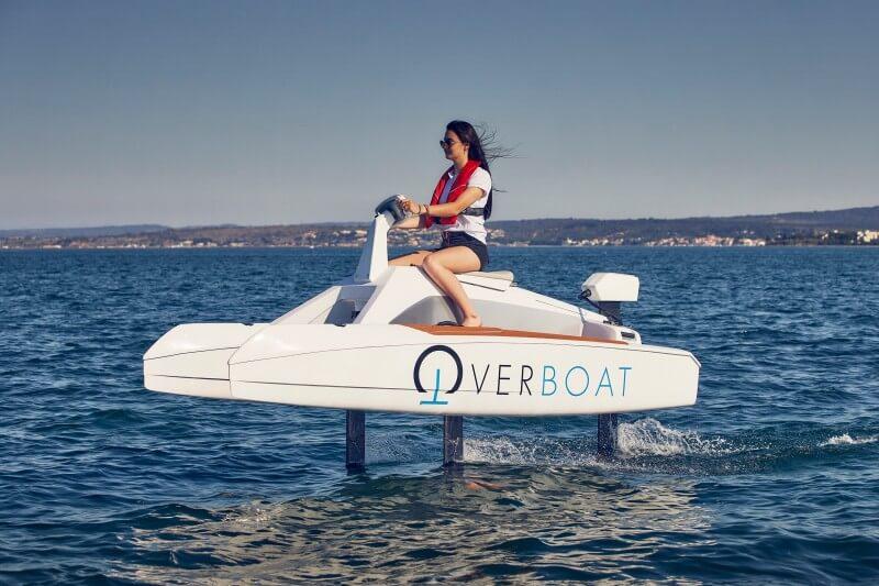 l'Overboat en vol