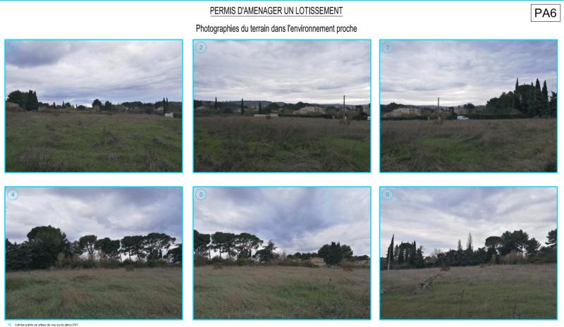 Photos du terrain