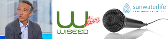 Rediffusion du WiSEED live avec Sunwaterlife