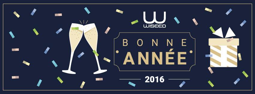 Toute l'équipe de WiSEED vous souhaite une très bonne année 2016 !