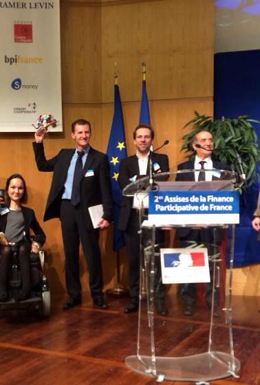 Comwatt remporte le prix du meilleur projet des 2e Assises de la Finance Participative de France