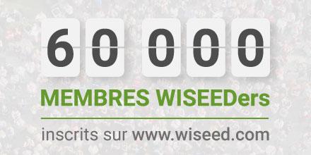 + de 60 000 WiSEEDers !