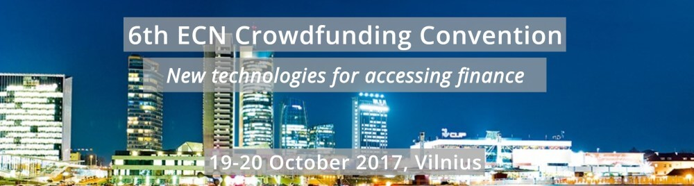 ECN Crowdfunding Convention - New technologies for accessing finance