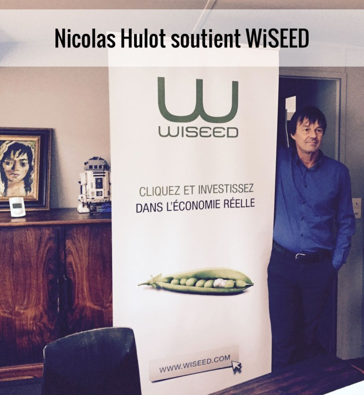Nicolas Hulot avec WiSEED