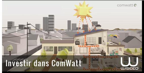 La startup COMWATT est ouverte au financement !