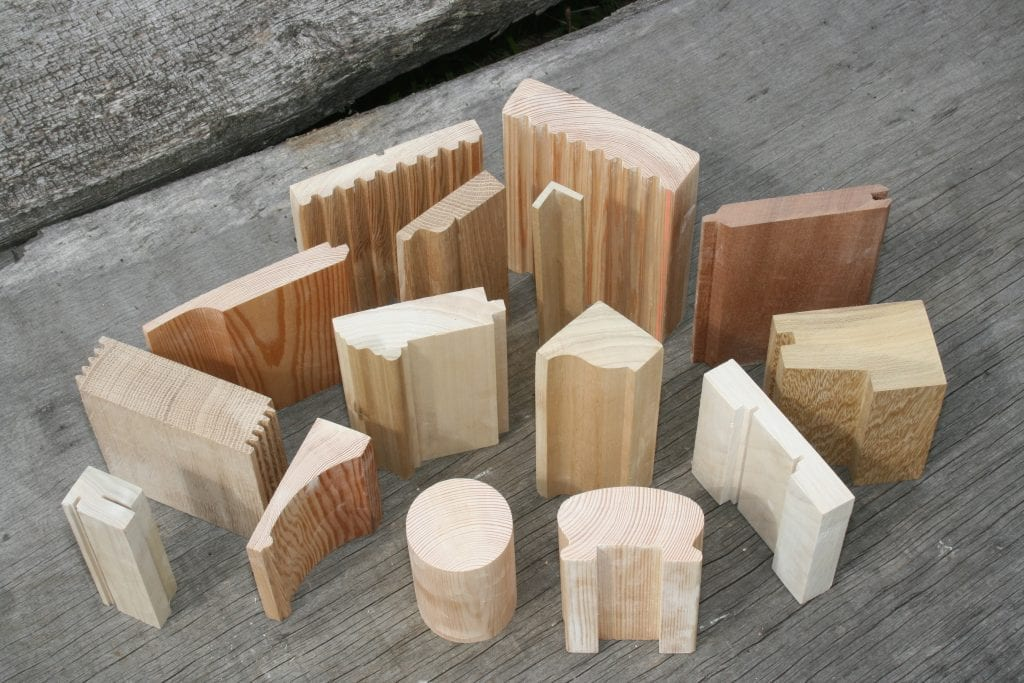 machined timber mouldings