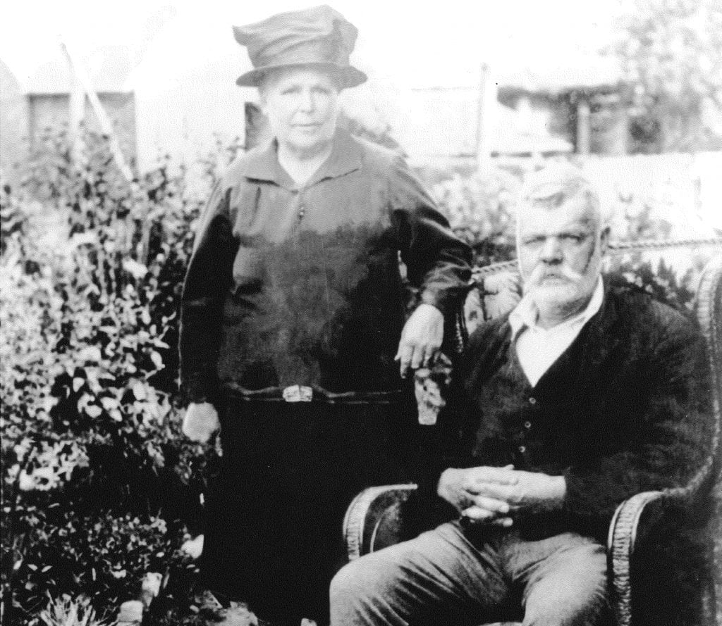 WL West & Sons Ltd's founder Walter Luke West and his wife, circa 1860.