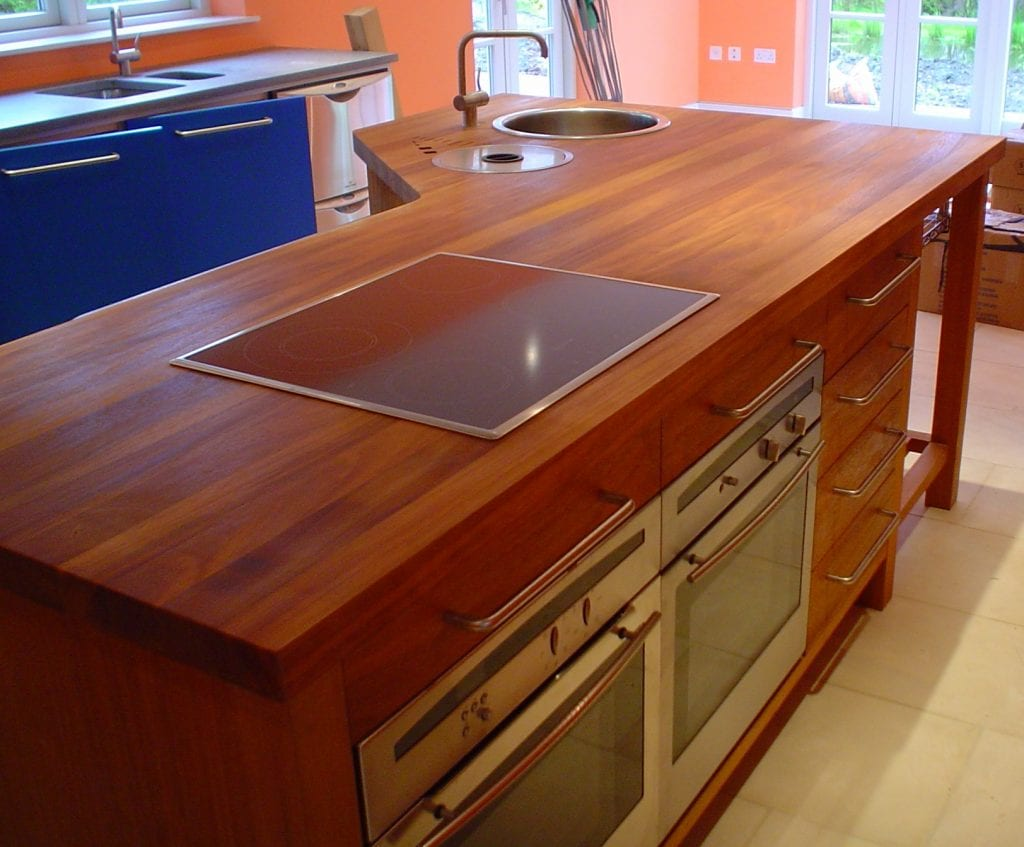 WL West & Sons Timber Worktop