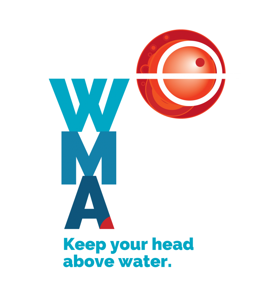 World Maritime Logo WMA Keep your head above water